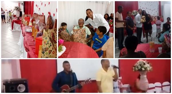 C. DA FEIRA: Vereador Del do Táxi realiza homenagem ao dia das mães na Rua Nova