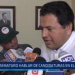 """Edward Berrocal: """"Es prematuro hablar de candidaturas en el APRA"""""""