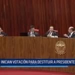 Brasil: Inician votación para destituir a presidente Temer