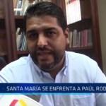 Trujillo: Santa María se enfrenta a Paúl Rodríguez