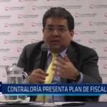 Contraloría de la República presenta plan de fiscalizaciones