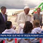 Colombia: Papa Francisco pide que no se dejen robar la paz