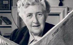 Fallece Agatha Christie