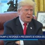 USA: Donald Trump le responde a presidente de Korea del Norte