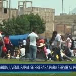Trujillo: Guardia juvenil papal se prepara para servir al Papa Francisco