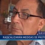 Nuevo Chimbote: Radicalizarán medida de protesta