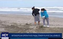Chiclayo: Intensifican: operativos para tener playas saludables