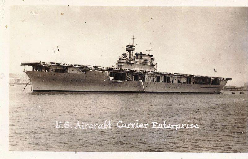 USS Enterprise (CV-6): Photos. History. Specification