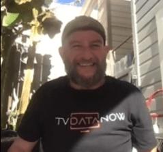 John Hamilton, CEO and Co-founder of TVDataNow