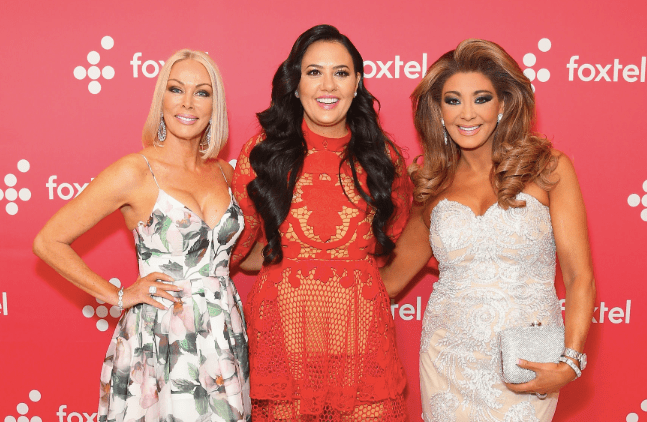 Janet Roach, Lydia Schiavello, Gina Liano, The Real Housewives of Melbourne season 5, RHOMelbourne, Foxtel, Arena