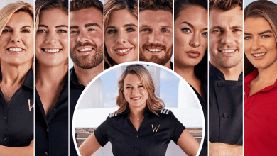 Captain Sandy Yawn, Malia White, Alex Radcliffe, Bugsy Drake, Hannah Ferrier, Rob Westergaard, Jessica More, Tom Checketts, Aesha Scott, Below Deck Mediterranean, Below Deck Med reunion, Bravo TV