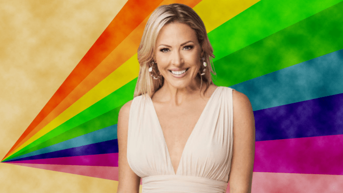 Braunwyn Windham-Burke, RHOC, The Real Housewives of Orange County, lesbian, gay, GLAAD