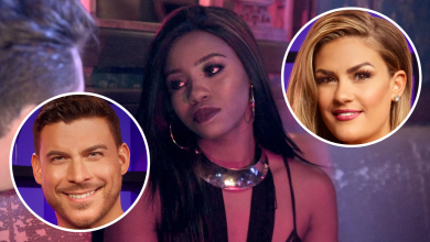 Faith Stowers, Jax Taylor, Brittany Cartwright, Vanderpump Rules