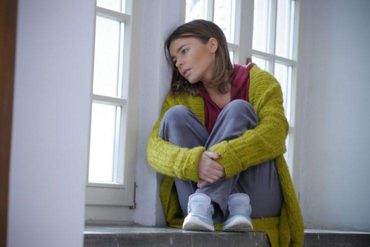 """""""Pierwsza miłość"""" - Sylwia (Edyta Herbuś) trafi do szpitala psychiatrycznego! (fot. B. Bogielczyk)"""