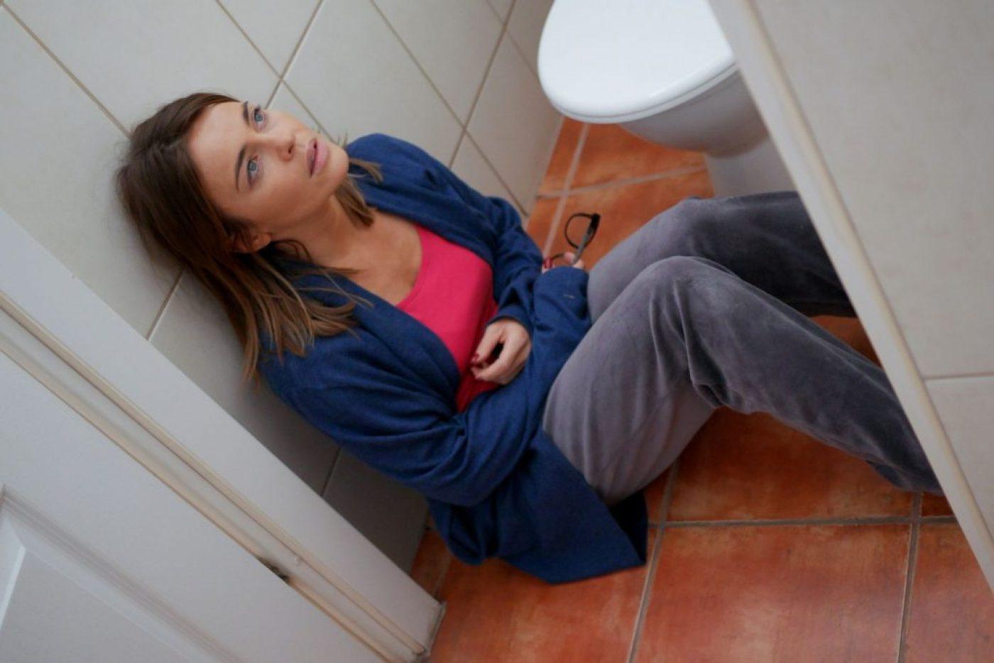 """""""Pierwsza miłość"""": Sylwia (Edyta Herbuś) popełni samobójstwo?! (fot. B. Bogielczyk)"""