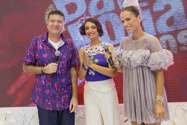 Betinho, Catia Fonseca e Ligia Mendes