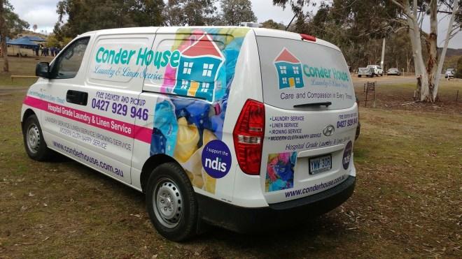 Conder House Van