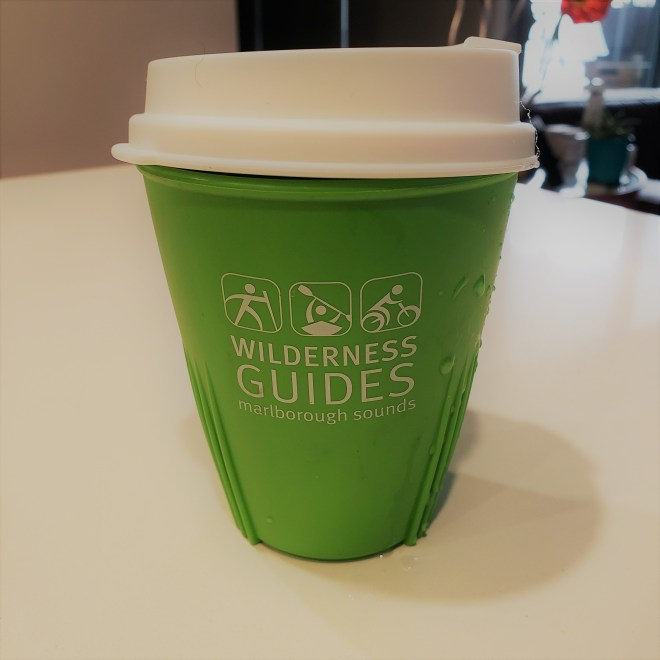 Reusable souvenir coffee cup