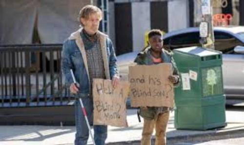 Shameless season 11 episode 11 Frank and Liam