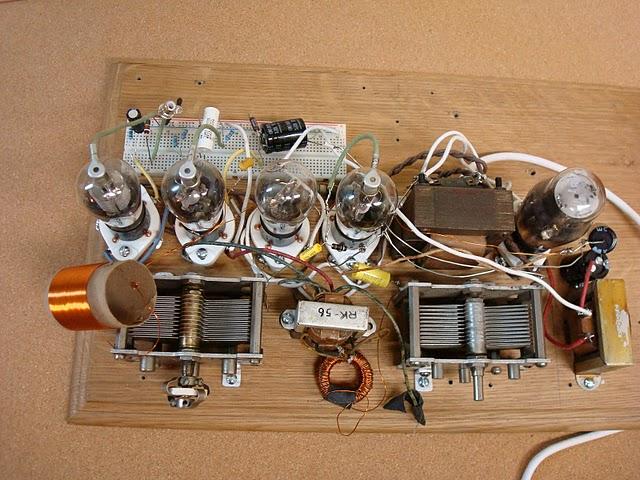 Breadboard Circuit Fm Transmitter