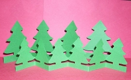 6 paper christmas decorations