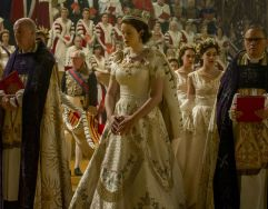 Claire Foy in The Crown