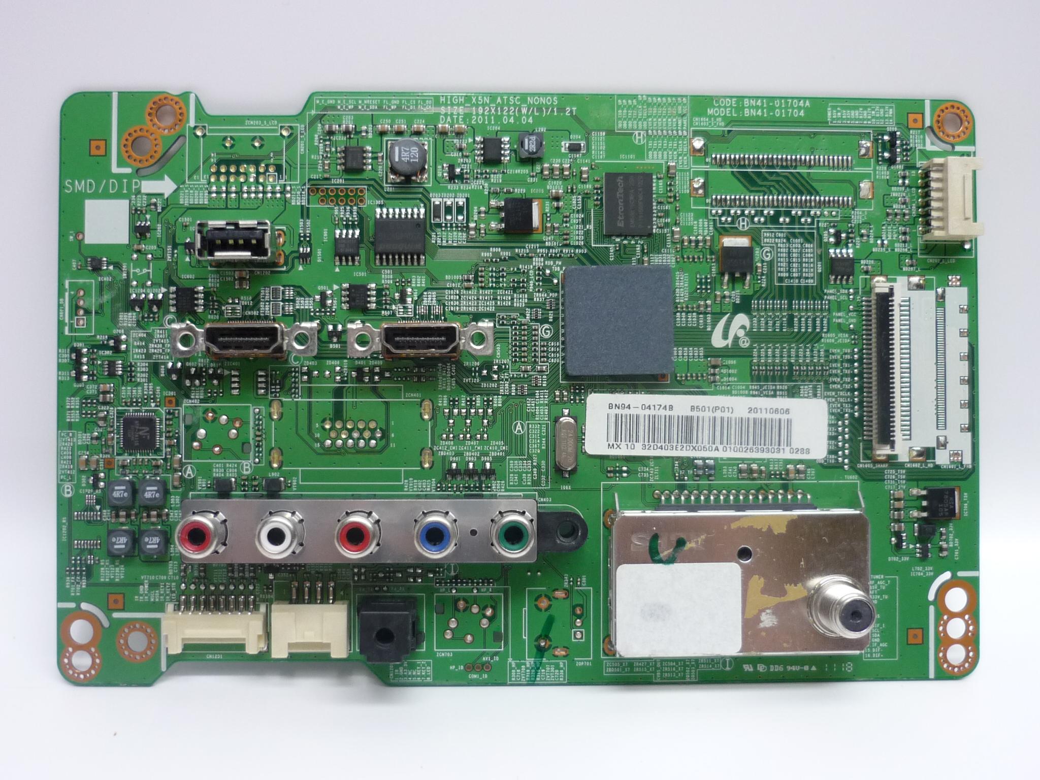Samsung BN94-04174B Main Board