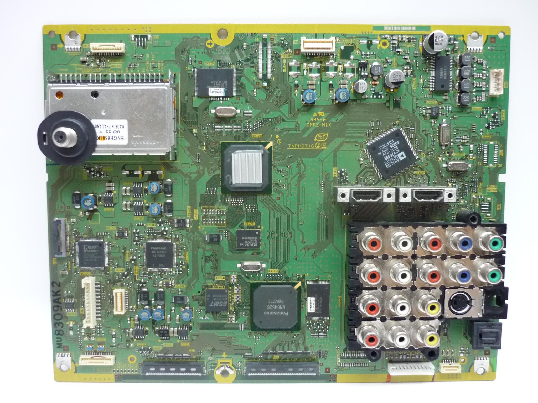 Panasonic TNPH0716AKS Main Board
