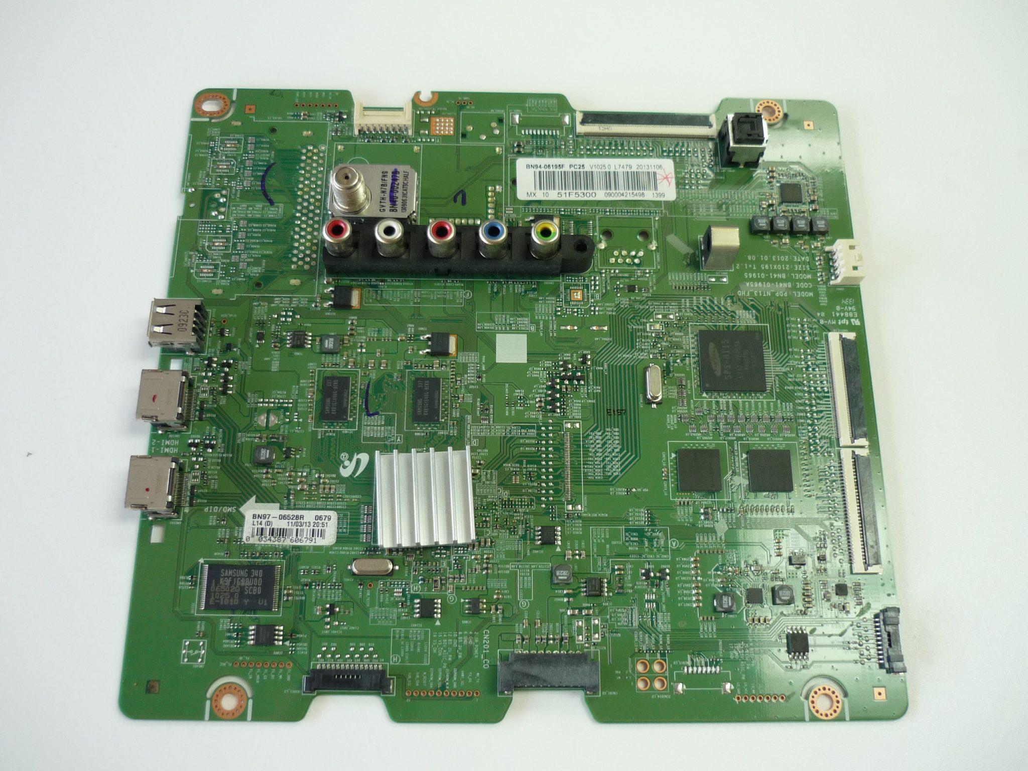 Samsung BN94-06195F Main Board for PN51F5300AFXZA / PN51F5350AFXZA