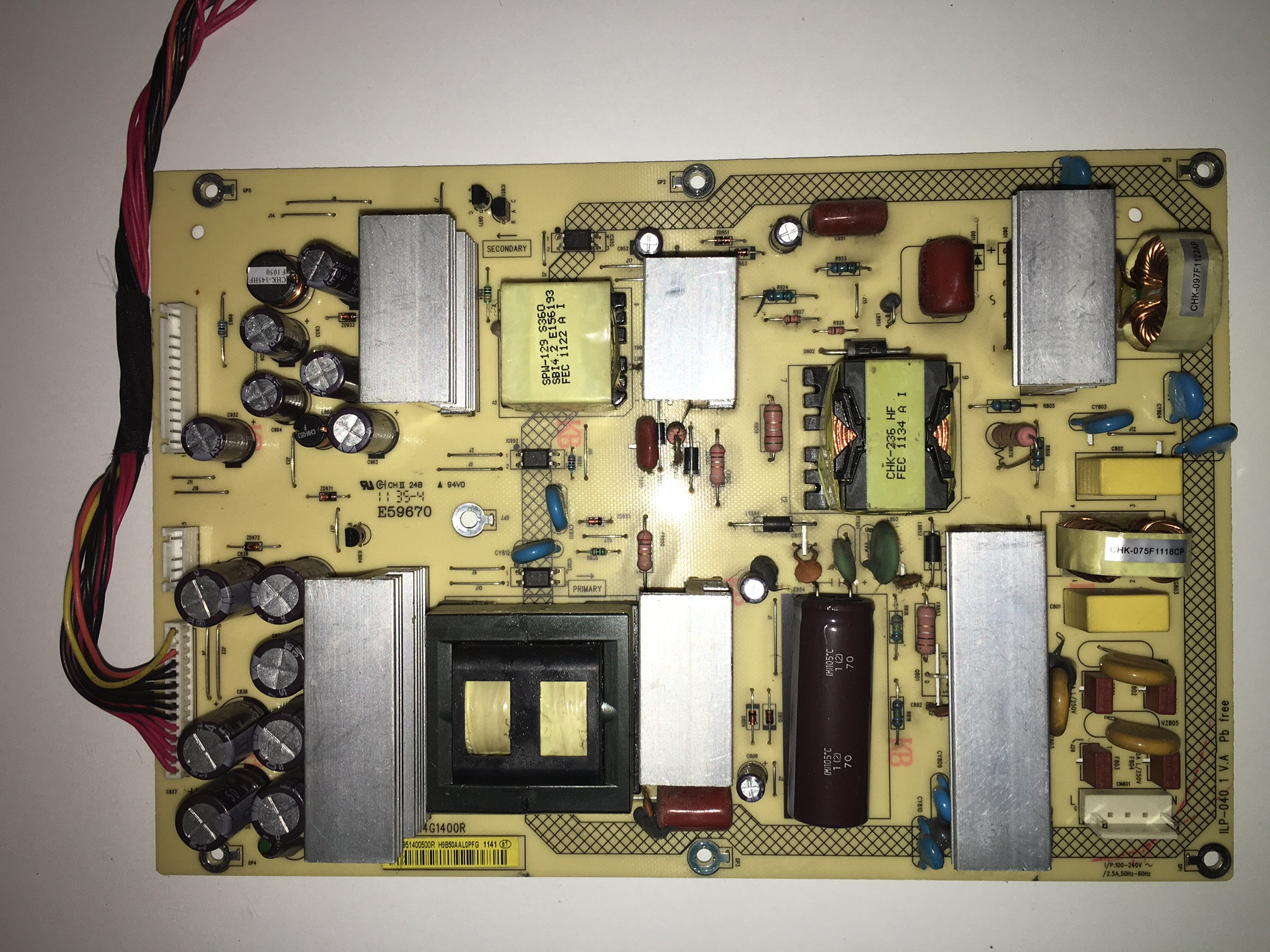 Sharp 9JY795961400500 Power Supply for LC-32D59U