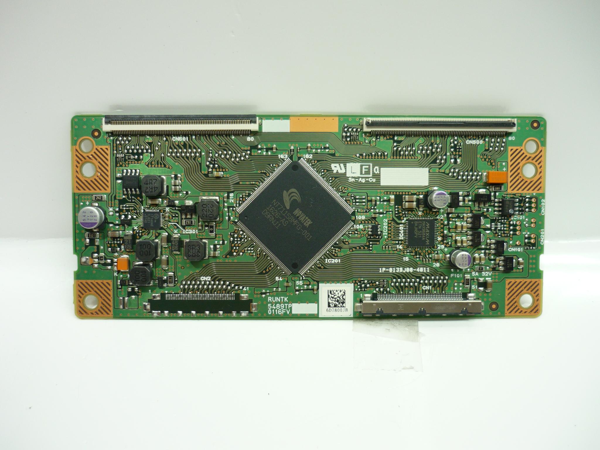 Vizio 072-0001-4809 / 072-0001-5909 (RUNTK5489TP) T-Con Board
