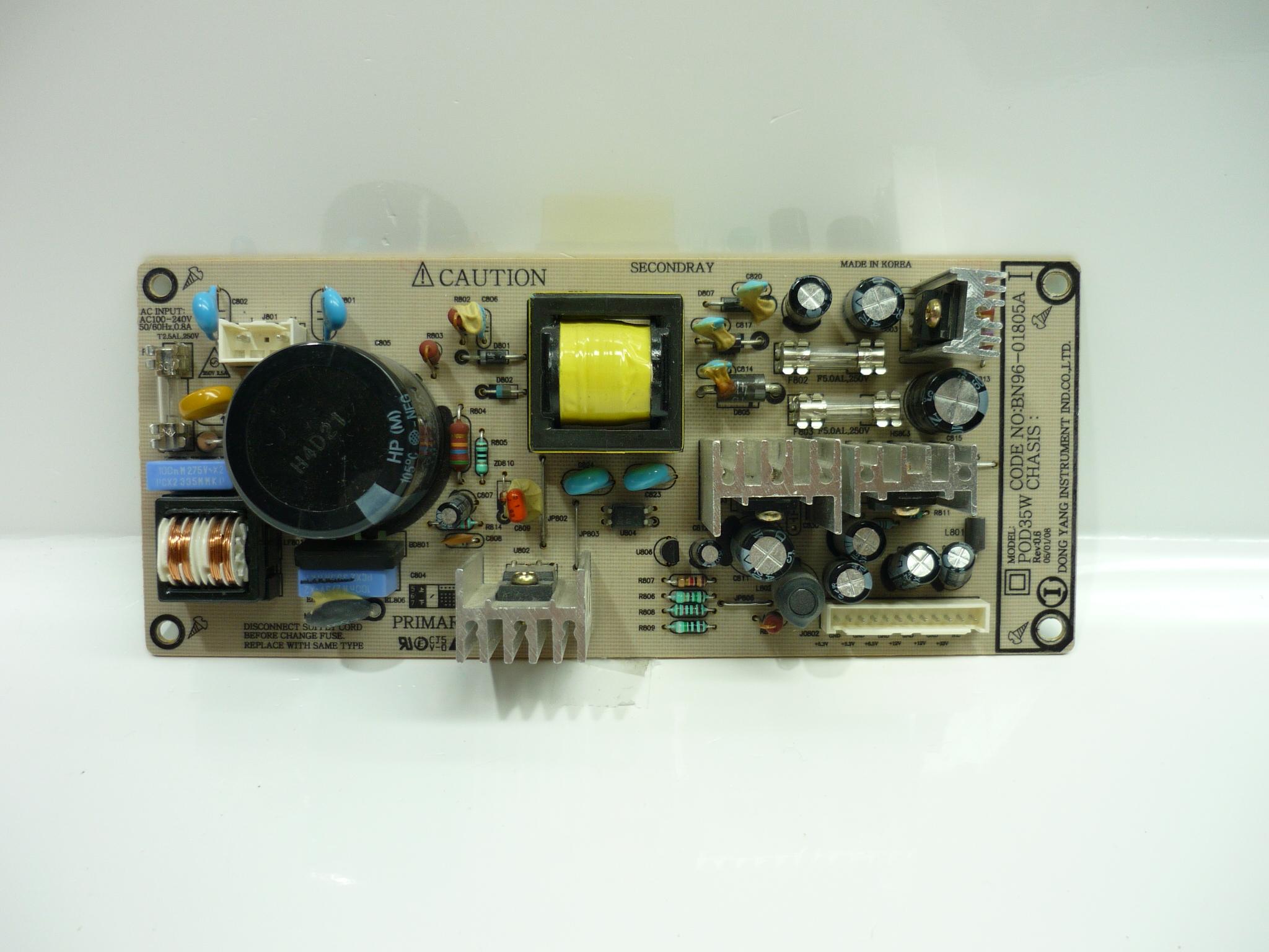 Samsung BN96-01805A (POD35W) Power Supply Unit