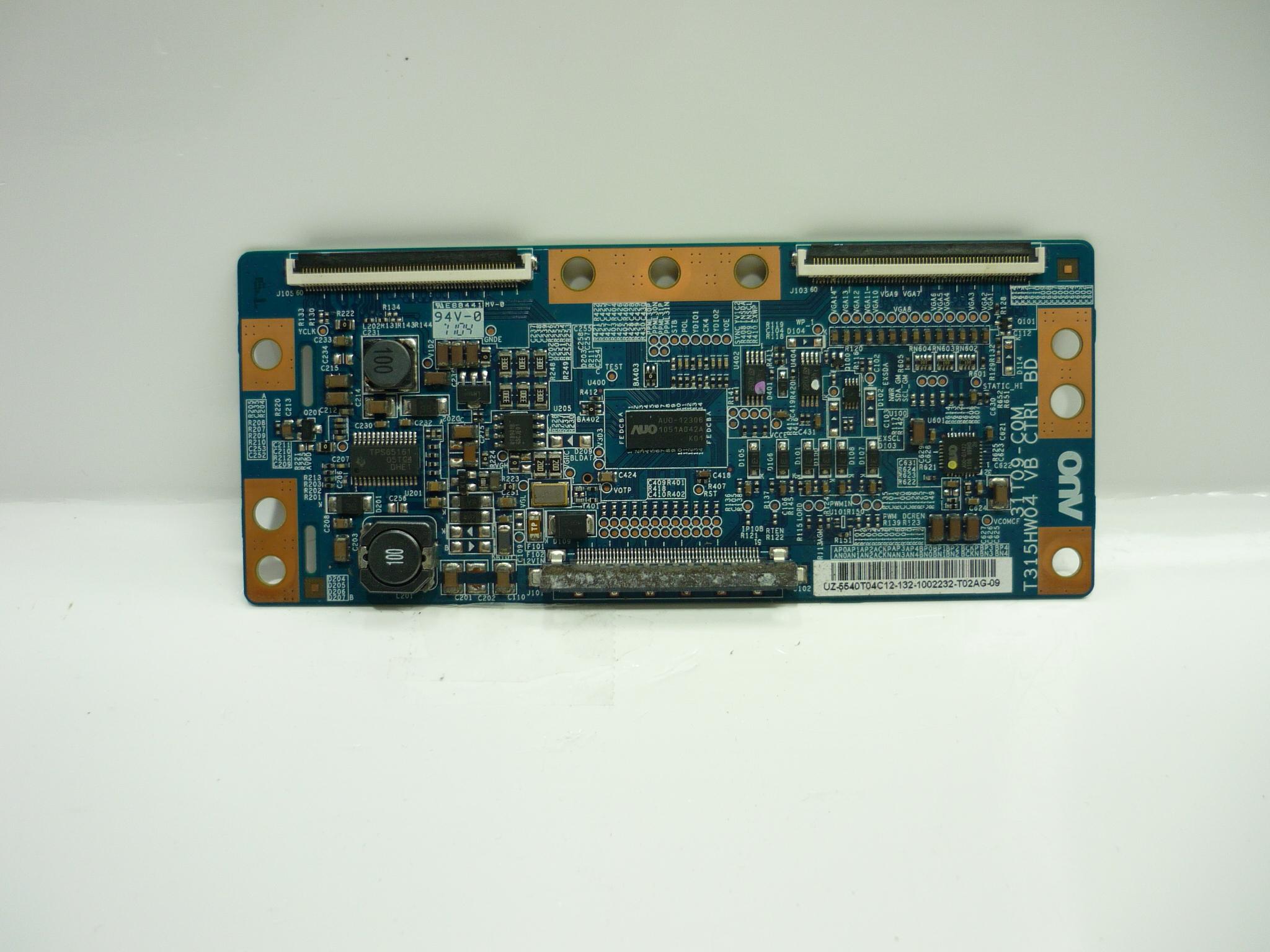 AUO 55.40T04.C12 (31T09-C0L, T315HW04 VB) T-Con Board