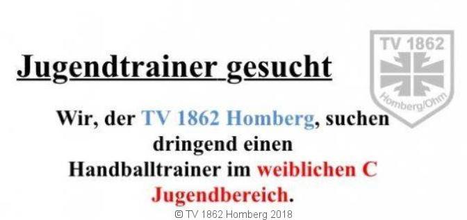 Trainer/in gesucht!