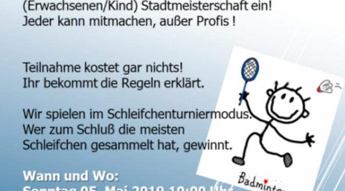 Homberger Badminton Apfelweinturnier