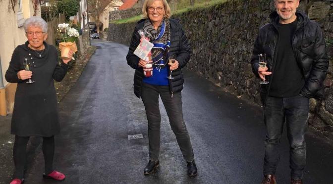 Ehrenmitglied und Übungsleiterin Antje Weiß feierte 80. Geburtstag