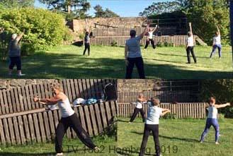 Aktiv sein und dabei entspannen im Schlossgarten!