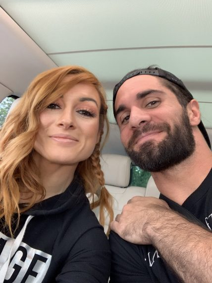WWE's Seth Rollins and Becky Lynch Engaged | PEOPLE.com