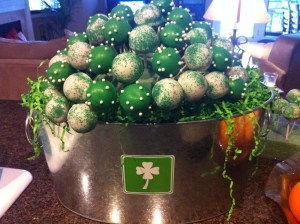 St Patrick's Day Cake Pops Adventures With Jen Cook