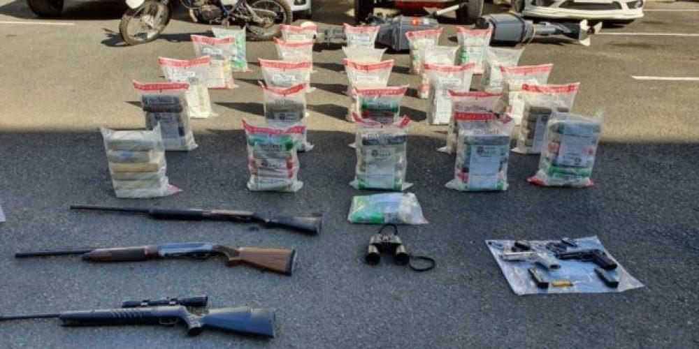 150 paquetes de cocaína en Rep.Dom