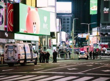 disparos en Times Square