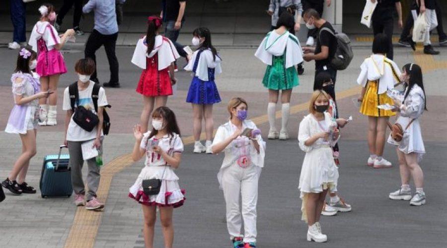 contagios en Tokio