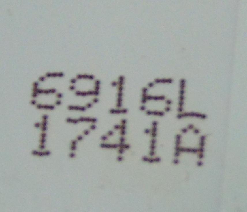 Backlight LED Bar L2 Strip 6916L-1741A LG LC550DUH (PG
