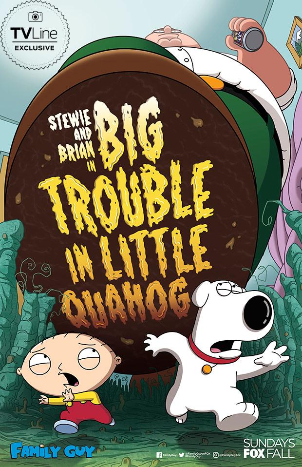Family Guy Season 17 Episode 5 : family, season, episode, Family, Season, First, Comic-Con, Poster, Revealed, TVLine