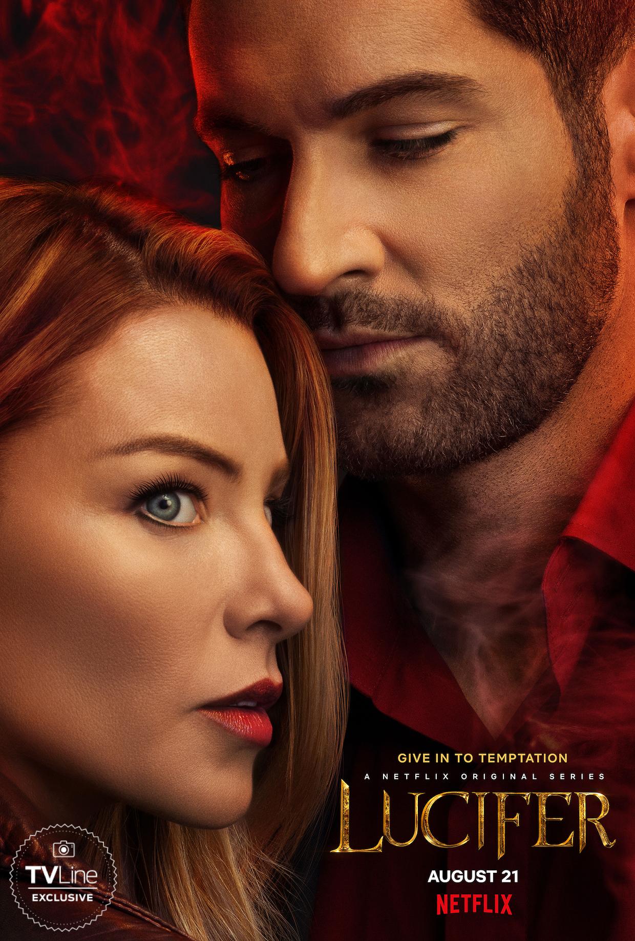 Lucifer Saison 1 Streaming : lucifer, saison, streaming, Lucifer', Season, Poster, Teases, (Last?), Temptation, Chloe, TVLine