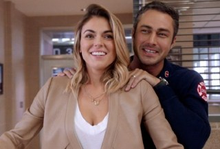 Chicago Fire Severide and Brittany