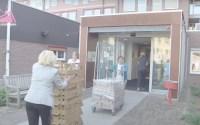 Voedselpakketten voor Loosduinen