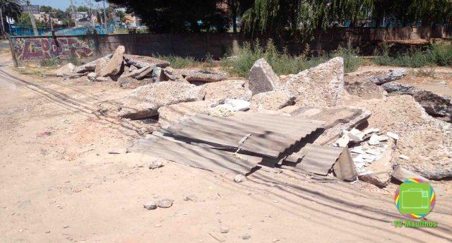 escombros puente 14 oriente