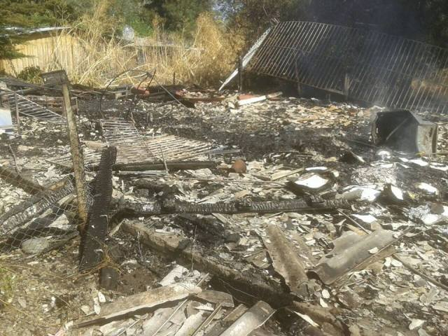 incendio escuela camarico