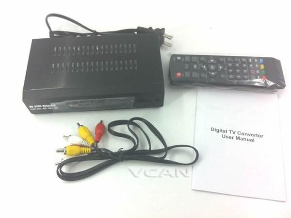 Mexico Home ATSC Digital TV Receiver TV Plus black box MPEG4 HDMI USB PVR